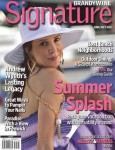 Suzette on the cover of Signature Brandywine